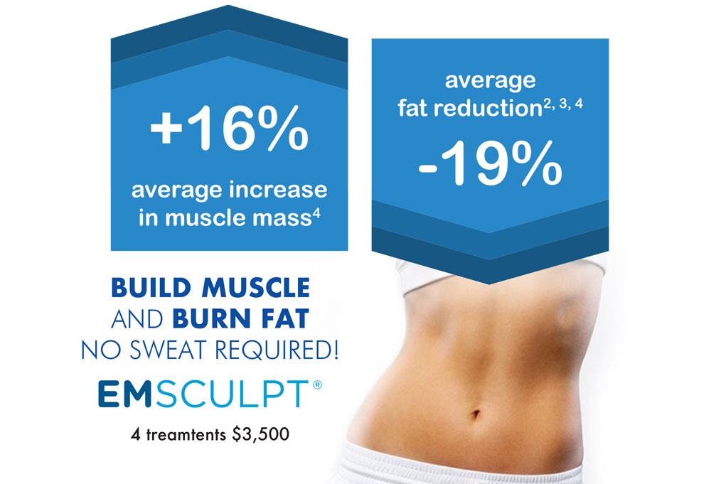 What is emsculpt? Check out the benefits!